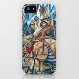 The Sea In The Fish iPhone Case