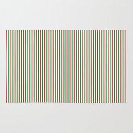 Christmas Time for Stripes Rug