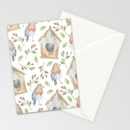 CUTE WOODLAND ANIMALS FACE MASK PHONE CASE WATERCOLOR ANIMALS KIDS  Stationery Cards