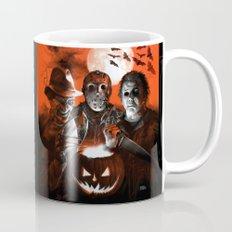 Freddy Krueger Jason Voorhees Michael Myers Super Villians Holiday Mug