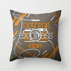 Express Throw Pillow