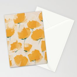 The Yellow Flowers Stationery Cards