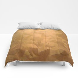 Brushed Copper Metallic - Beautiful - Rustic Glam - Fancy Faux Finishes - Metallic Paint Comforters