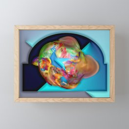 Little big bang ... Framed Mini Art Print