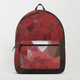 Red Flowering Gum Blossoms Backpack