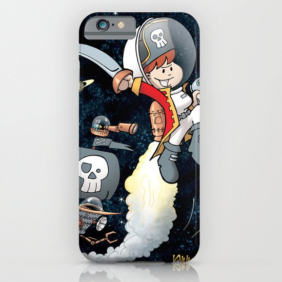 Space Pirate Gilly iPhone & iPod Case