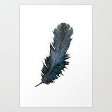 Feather - Enjoy the difference! Art Print