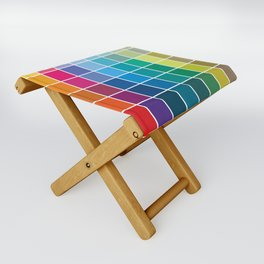 Colorful Soul - All colors together Folding Stool