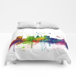 Baltimore Skyline Comforters