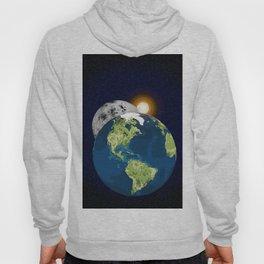 Earth Moon and Sun Hoody