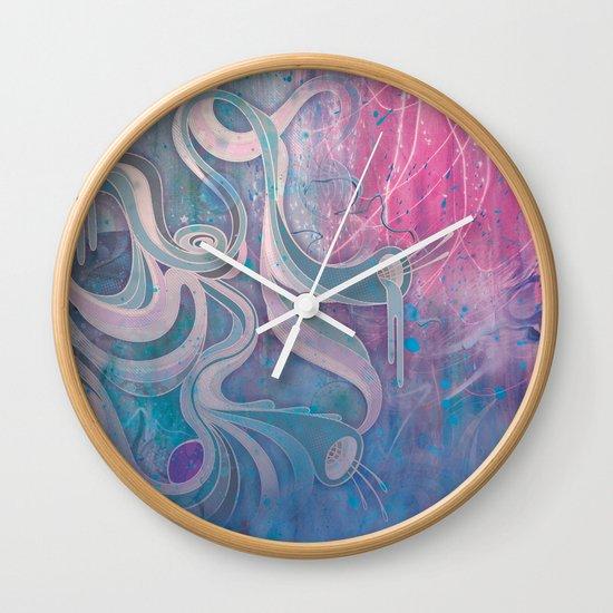Electric Dreams Wall Clock