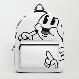 Glueckliche music Backpack