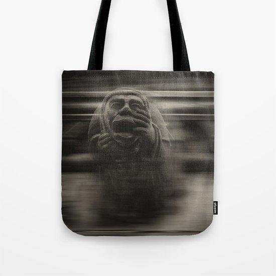 Medieval angst Tote Bag