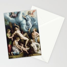 Giulio Romano - The Birth of Bacchus Stationery Cards