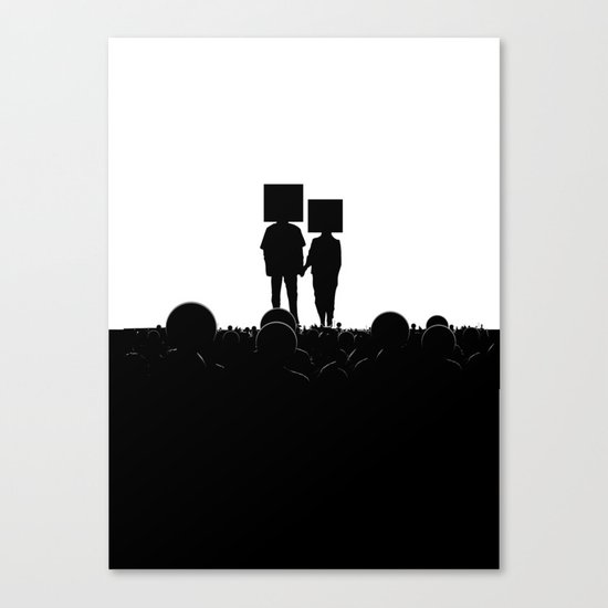 I have you. You have me. - US AND THEM Canvas Print