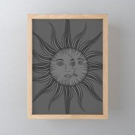 Emma's Sky Framed Mini Art Print