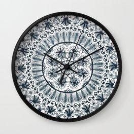 Awaken Nature Mandala Wall Clock