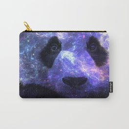 Galaxy Panda Space Colorful Carry-All Pouch