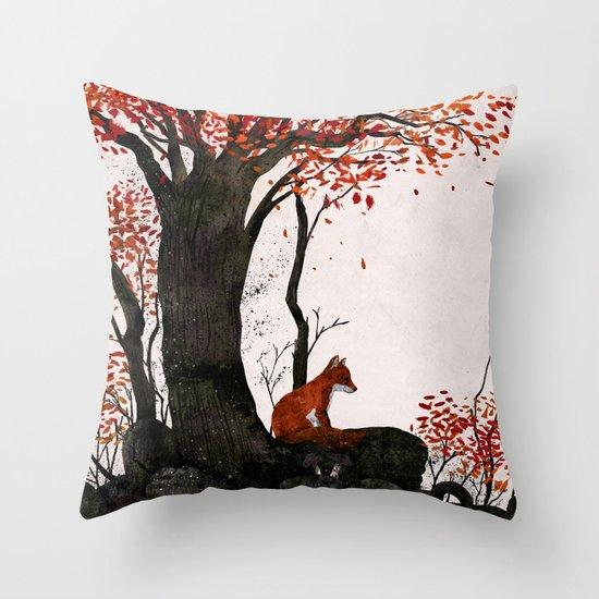 Fantastic Mr. Fox Doesn't Feel So Fantastic Anymore Throw Pillow