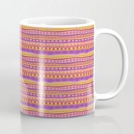 Stripey-Fiesta Colors Coffee Mug