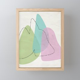 minimaldesign Framed Mini Art Print