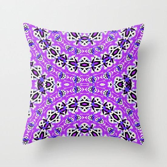 Purple #3 Throw Pillow