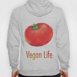 Vegan Life happy tomato Hoody