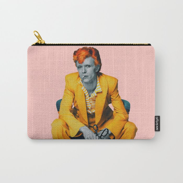 pinky bowie 2 Carry-All Pouch