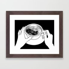 Morning please don't come Framed Art Print