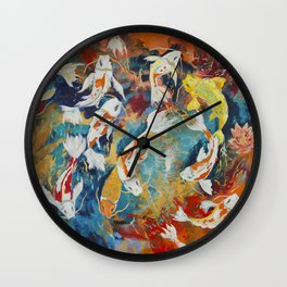 Vibration Wall Clock