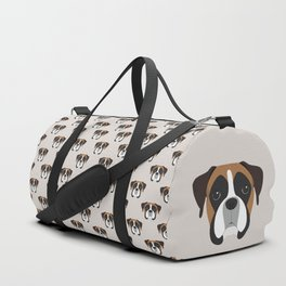 Boxer Portrait Duffle Bag