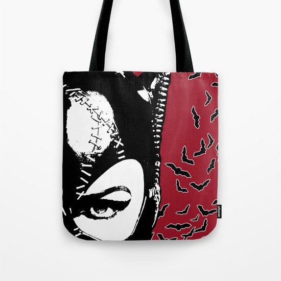 Red Catwoman Tote Bag