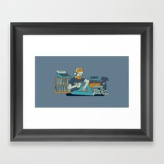 Willustration Framed Art Print