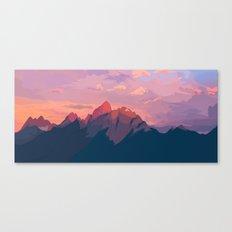 Sunset Hues Canvas Print