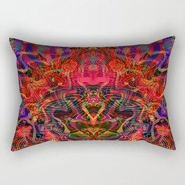 Invisible Dragon Rectangular Pillow