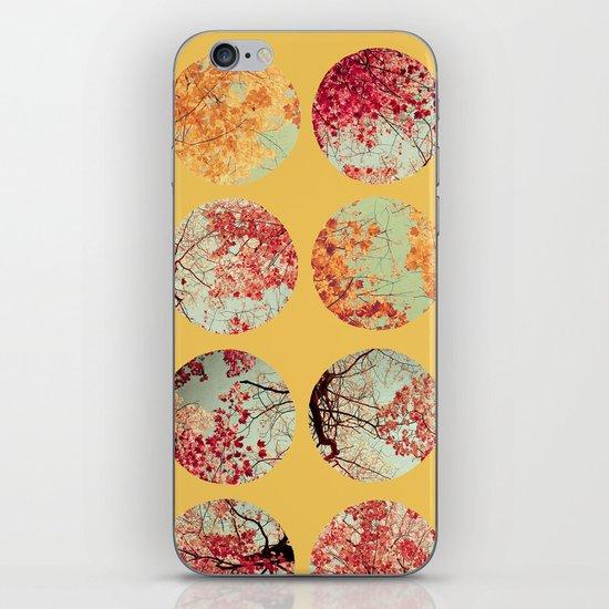 Sunflower Inkblot iPhone & iPod Skin