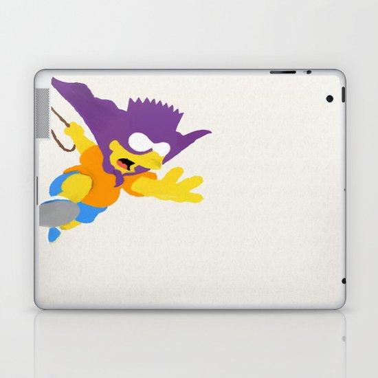 Minimalist Bart Laptop & iPad Skin