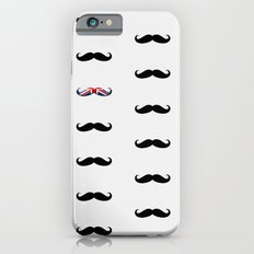 Union Jack Mustache Slim Case iPhone 6s