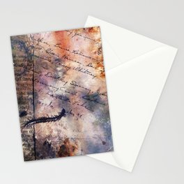 Centipede Stationery Cards