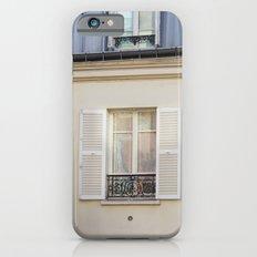 Parisian window iPhone 6s Slim Case