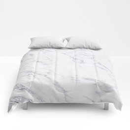 Gray Rich Marble Comforters