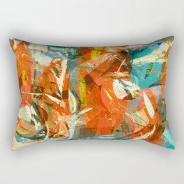 Arrival to the New World Rectangular Pillow
