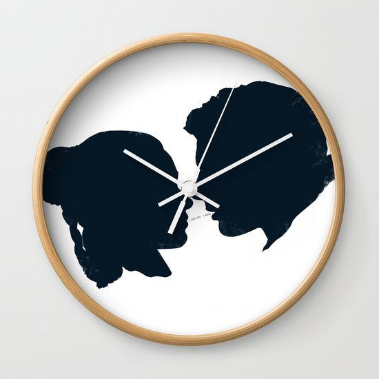 I Love You, I Know Wall Clock