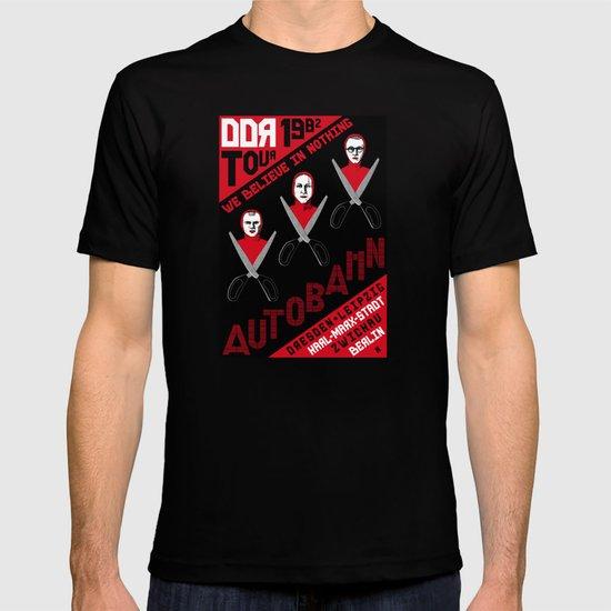 Autobahn--East German Tour 1982 T-shirt