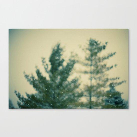 Snowday Canvas Print