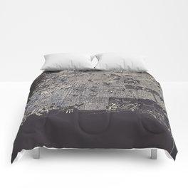 San Francisco City Map Comforters