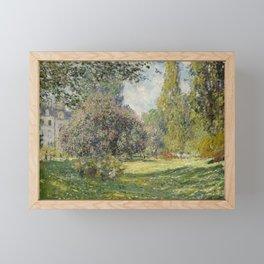 Landscape: The Parc Monceau Framed Mini Art Print