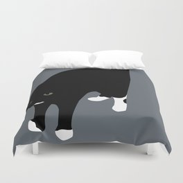 Halt Duvet Cover