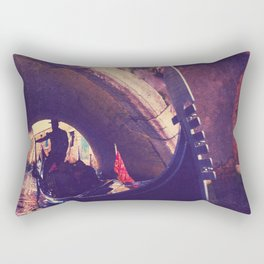 """""""Venice is like eating an entire box of chocolate liqueurs in one go.""""  ― Truman Capote Rectangular Pillow"""