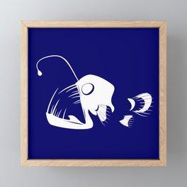 Deep Sea Fish Framed Mini Art Print